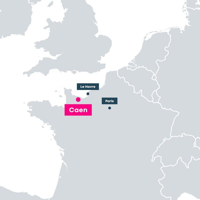 entrepôts logistiques Caen